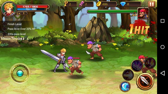 brave-fighter-2-android-ios-4 Brave Fighter 2 é uma aventura offline para quem curte cavaleiros e dragões