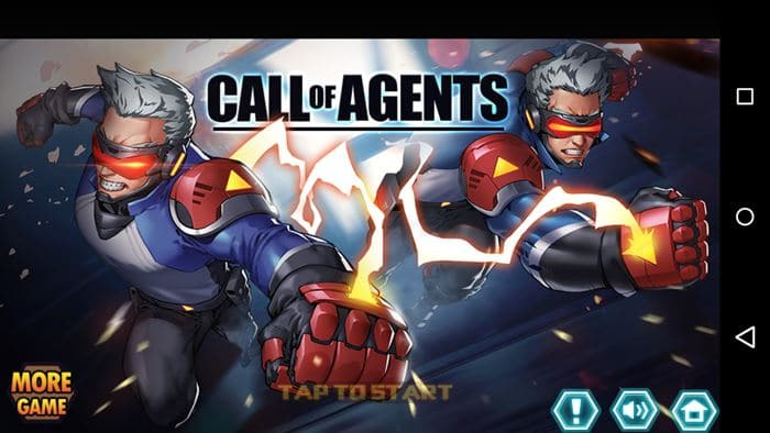 call-of-agents-android-offline-1 Call of Agents é um Briga de Rua futurista e OFFLINE