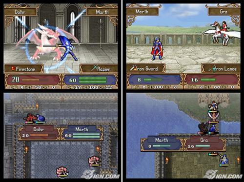 fire-emblem-shadow-dragon-nintendo-ds-drastic 25 Melhores Jogos para o DraStic (Emulador do Nintendo DS)