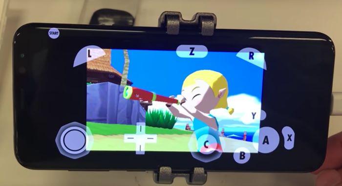 galaxy-s8-dolphin-legend-of-zelda Galaxy S8 (e qualquer Snap 835) roda jogos do Wii com facilidade
