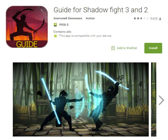 guia-falso-shadow-fight-3 Hackers usam Shadow Fight 3 como vírus na Google Play