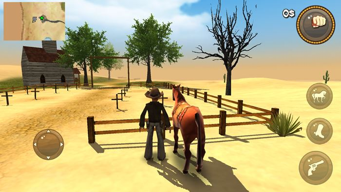 guns-and-spurs-2 Guns and Spurs: Mundo Aberto e Velho Oeste neste jogo OFFLINE
