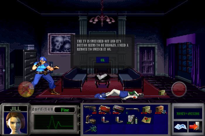 jill-nightmare-android-game-offline-1 Jill's Nightmare é um fangame de Resident Evil para Android