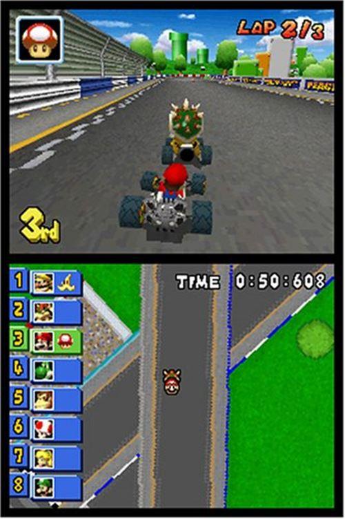 mario-kart-ds-drastic 25 Melhores Jogos para o DraStic (Emulador do Nintendo DS)