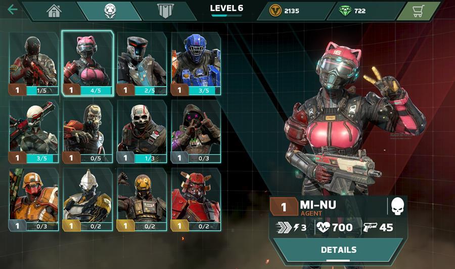 modern-combat-versus_menu_Agents Entrevista com os produtores de Modern Combat Versus