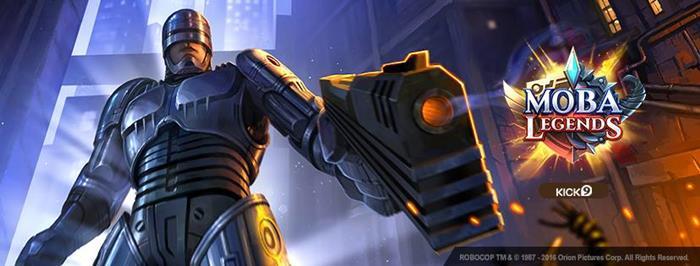 robocop-moba-legends MOBA Legends: conheça jogo maluco que reune King Kong e Robocop!