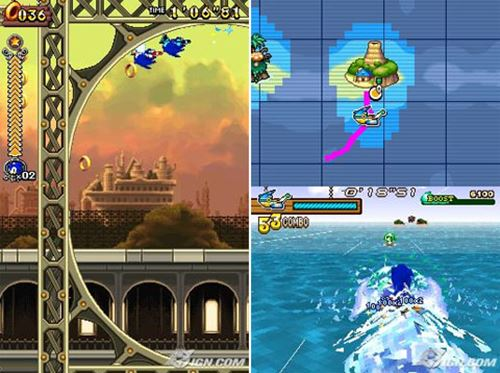 sonic-rush-nintendo-ds-drastic 25 Melhores Jogos para o DraStic (Emulador do Nintendo DS)