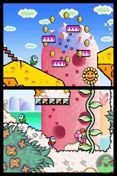 yoshi-island-Nintendo-ds-drastic 25 Melhores Jogos para o DraStic (Emulador do Nintendo DS)