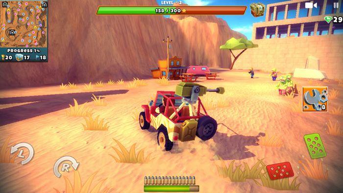 zombie-offroad-safari-3 Zombie Offroad Safari é um jogo de mundo aberto com zumbis e muita diversão