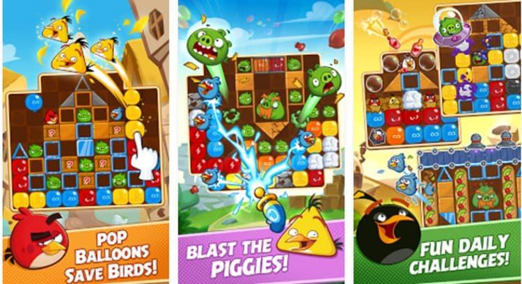Angry-Birds-Blast-iphone 25 Melhores Jogos Grátis para iPhone e iPad de 2017  - 1° semestre