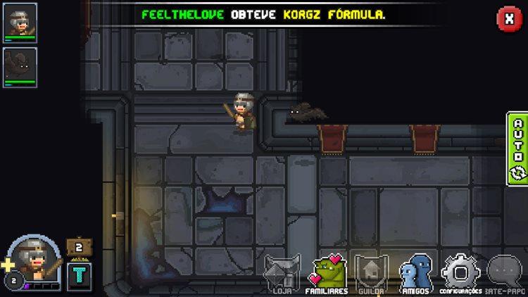"""bit-heroes-android-ios-game-1 Bit Heroes é um RPG Online em português com visual ao estilo """"Tibia"""""""