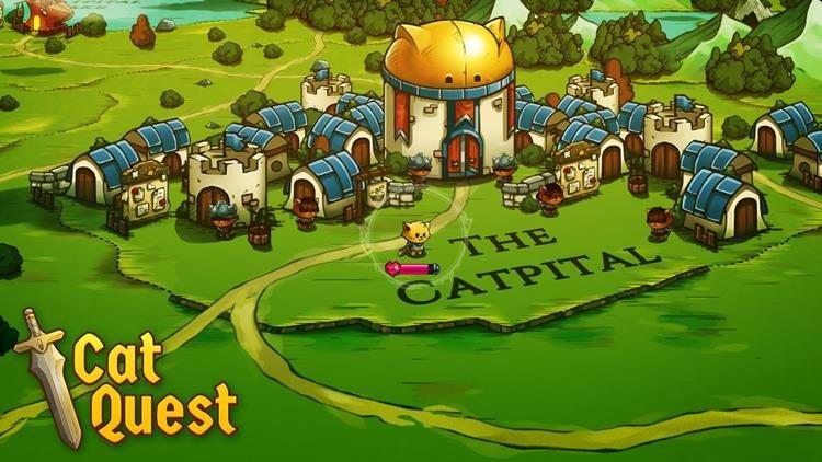 """cat-quest-1 Cat Quest é um """"Zelda Like"""" que você precisa conhecer"""
