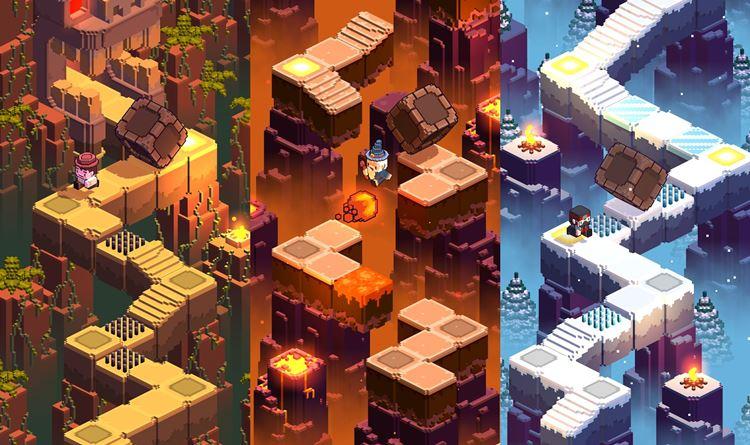 cliff-hopper-android 25 Melhores Jogos para Android Grátis de 2017 - 1º Semestre
