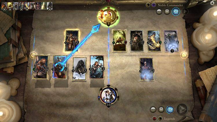 elder-scrolls-legends-ipad 25 Melhores Jogos Grátis para iPhone e iPad de 2017  - 1° semestre