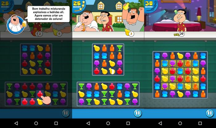 family-guy-game-puzzle-2 Family Guy Freakin Mobile Game: sexo, bebidas e jogo de celular