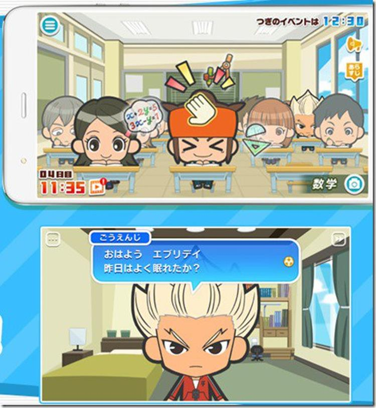inazuma-eleven-everyday-android-iphone-5 Inazuma Eleven Everyday: veja como será o jogo nos smartphones