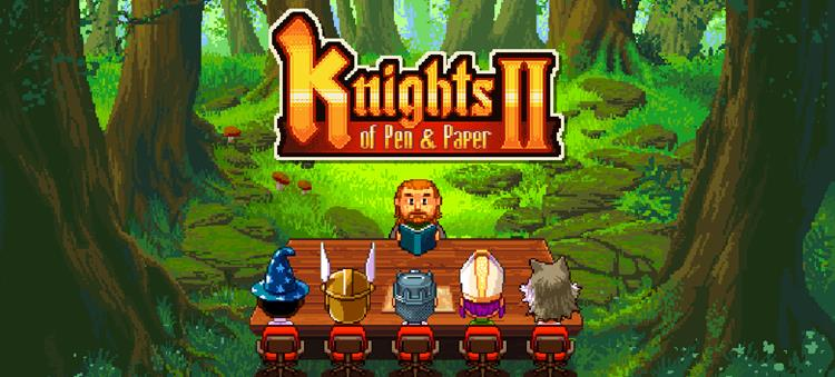 knights-of-pen-and-paper-2-android-ios Knights of Pen and Paper 2 ganha versão gratuita no Android e iOS