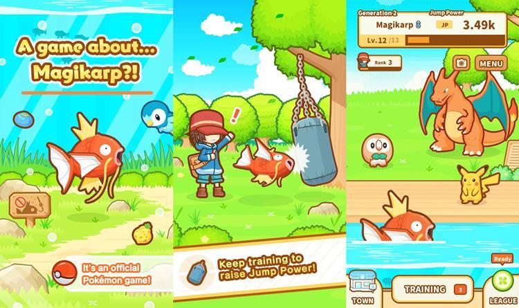 magikarp-jump-android-iphone Magikarp Jump: novo jogo de Pokémon parece ruim, mas não é