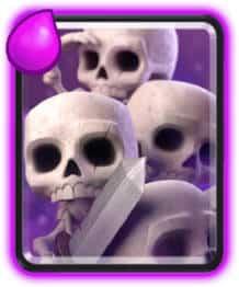 melhores-piores-cartas-clash-royale-exercito-de-esqueletos Clash Royale: Conheça as Melhores e Piores Cartas do Jogo