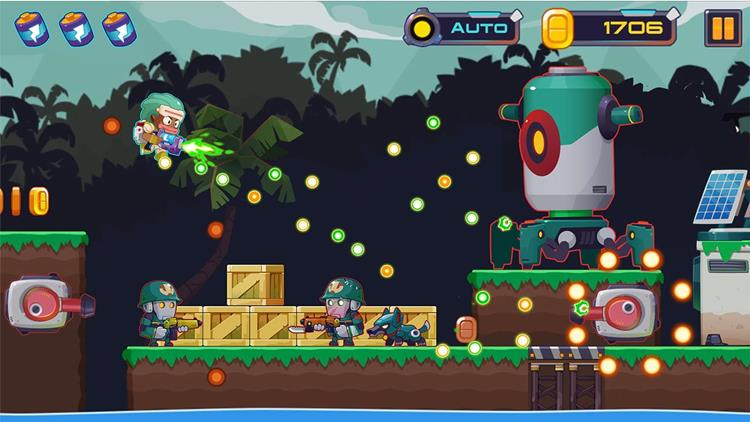 metal-shooter-android-iphone Metal Shooter: game no estilo Metal Slug, mas com personagens coloridos