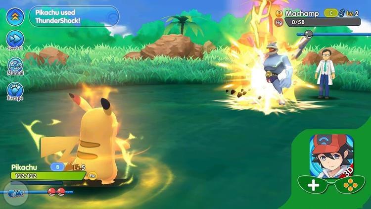 PockeTown: Incrível RPG 3D de Pokémon em inglês para Android