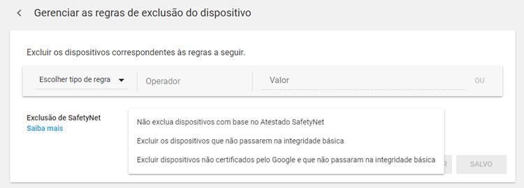 safetynet-google-play-console-brasil Google planeja a morte do ROOT com restrição na Play Store