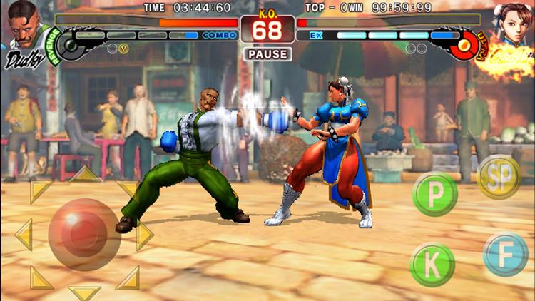 street-fighter-4-champion-edition-1 Street Fighter IV: Champion Edition chega ao iPhone e iPad em breve