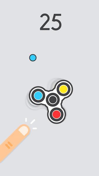 Spinny-Fidget Conheça os Melhores Jogos de Hand Spinner para Android