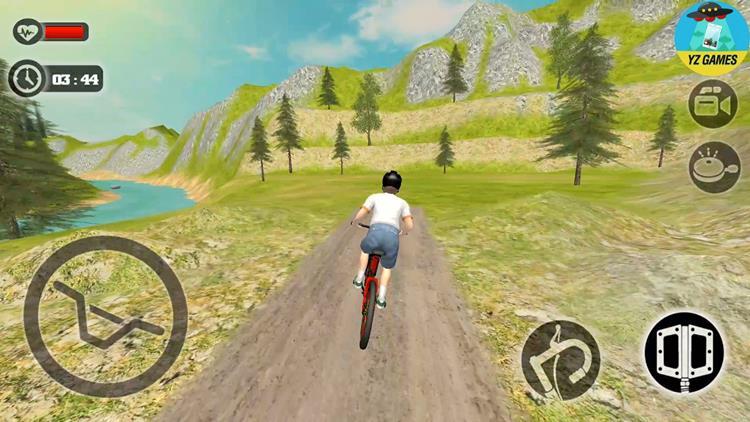 Uphill-Offroad-Bicycle-Rider Melhores Jogos Grátis de Bicicleta para Celular Android (3D e 2D)