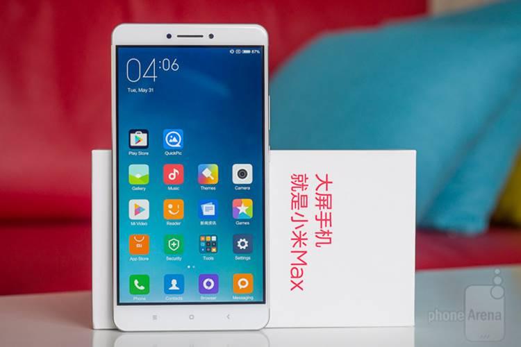 Xiaomi-Mi-Max 4 Celulares Chineses com as Melhores Baterias de 2017