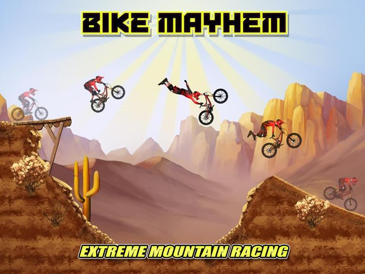 bike-mayhem Melhores Jogos Grátis de Bicicleta para Celular Android (3D e 2D)