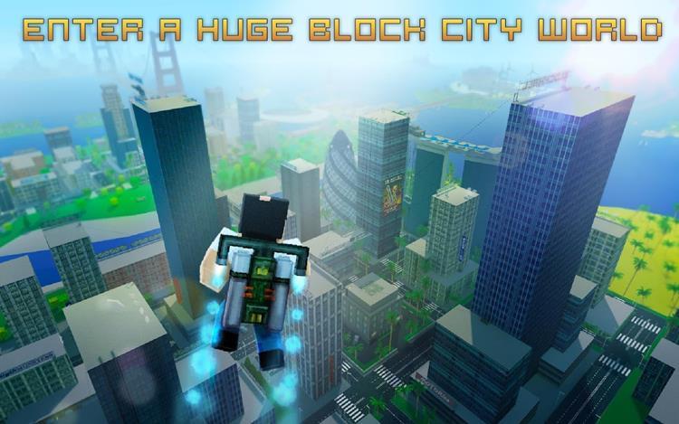 city-block-wars-android 5 Jogos Grátis e OFFLINE parecidos com GTA para Android