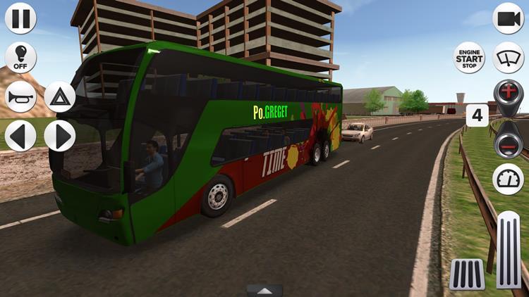coach-bus-simulator Melhores Jogos de Dirigir Ônibus para Celular Android