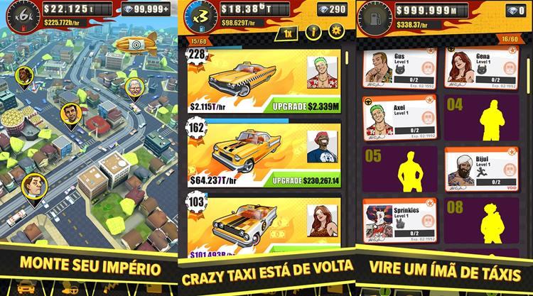 crazy-taxi-gazillionaire-1 Vire o patrão de taxistas loucos em Crazy Taxi Gazillionaire