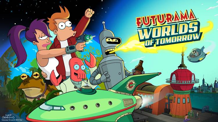 futurama-worlds-of-tomorrow-android-ios Futurama: Worlds Of Tomorrow já pode ser baixado no Android e iOS