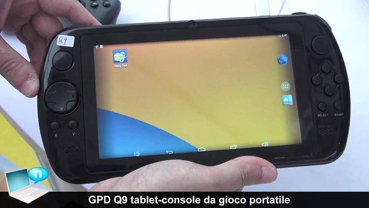 gpd-q9-tablet-gamer-chines 10 Melhores Tablets Chineses Android para Comprar em 2017