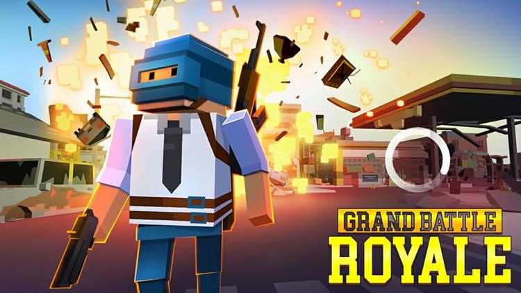 grand-battle-royale-playerunknown-battlegrounds-android Grand Battle Royale: game mistura Minecraft e PlayerUnknown's Battlegrounds