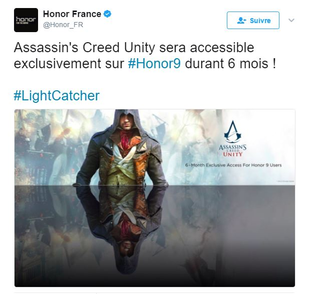 honor-exclusivo-assassins-creed-unity-android Jogo exclusivo do Honor 9 é Assassin's Creed Unity (Android)