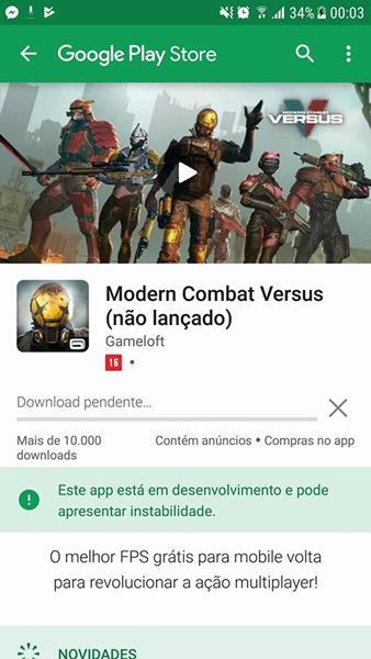 modern-combat-versus-android-brasil Modern Combat Versus chega na Google Play do Brasil (em soft launch)