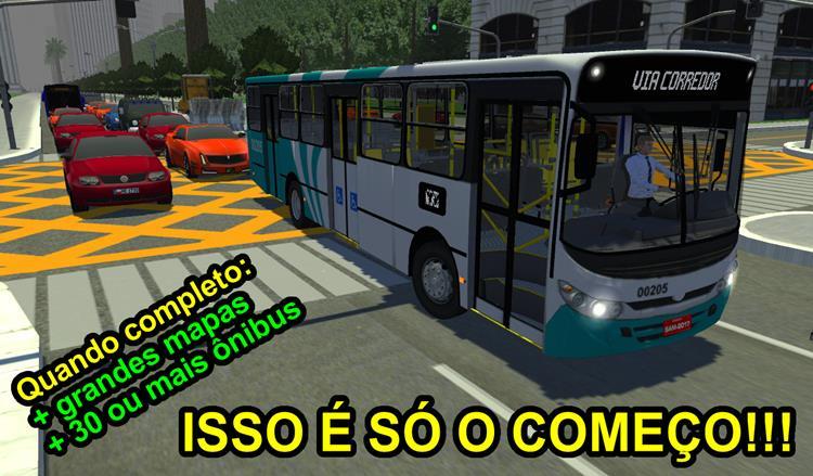 proton-bus-simulator Melhores Jogos de Dirigir Ônibus para Celular Android