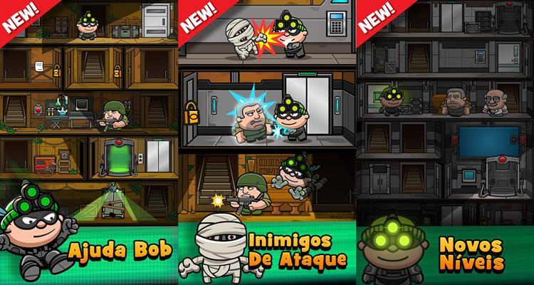 rob-the-robber-3 Bob The Robber 3 lembra o clássico Java Splinter Cell: Pandora Tomorrow