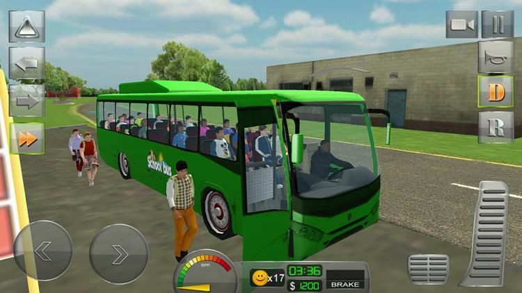 school-bus-3d Melhores Jogos de Dirigir Ônibus para Celular Android