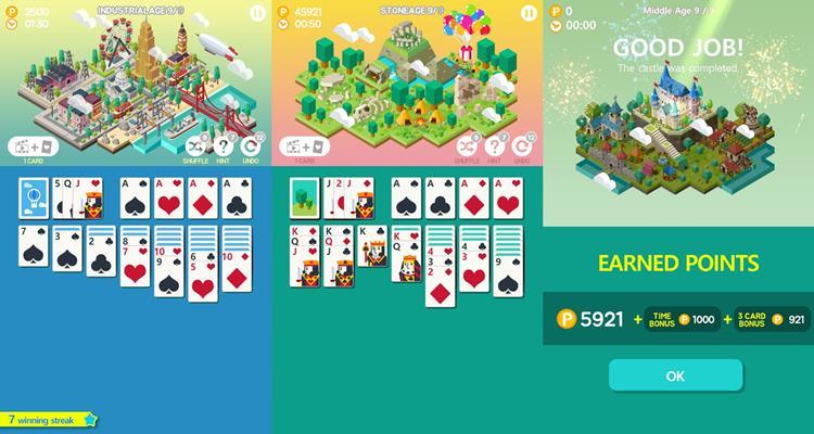 age-of-solitaire-paciencia Melhores Jogos para iPhone e iPad da Semana #30 de 2017