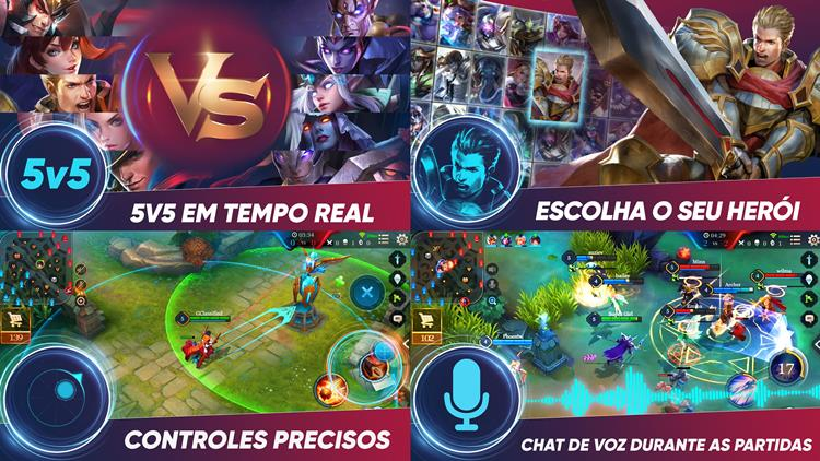 arena-of-valor-tencent-2 Tencent renomeia seu MOBA Strike of Kings para Arena of Valor