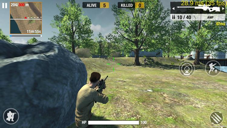 bullet-strike-battlegrounds-1 Bullet Strike: Battlegrounds é finalmente lançado no Android