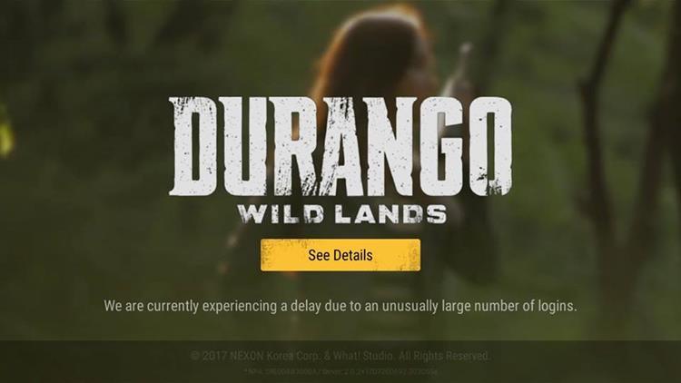 Durango Wild Lands: APK vaza e servidor não suportou os acessos