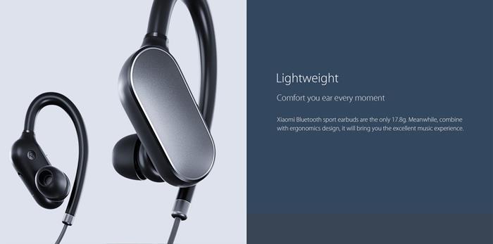 fone-de-ouvido-bluetooth-sport-xiaomi Melhores Fones de Ouvido importados de 2017 (baratos)