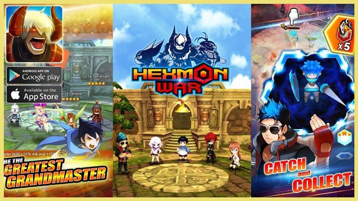 hexmon-war Melhores Jogos para Android da Semana #28 de 2017