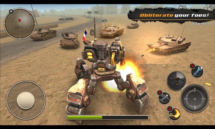 mech-legion-1 Mech Legion: jogo offline de guerra com robôs para Android