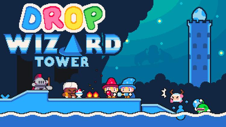 nitrome-drop-wizard-android-ios Drop Wizard Tower: Diversão 2D no melhor estilo Java para Android e iOS